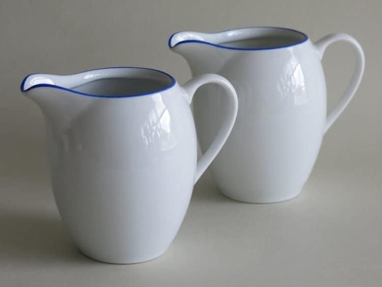 Milchgießer Olympia Blaurand 150 ml