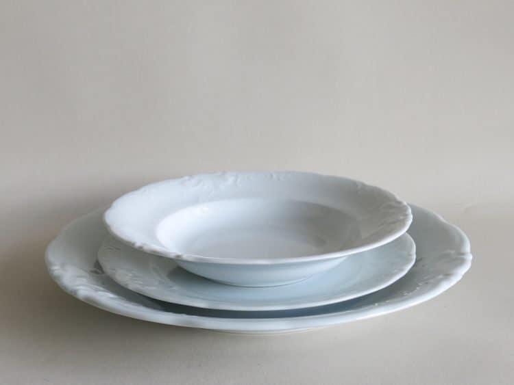 r Friederike Platzteller mit Teller 24 cm und Teller tief