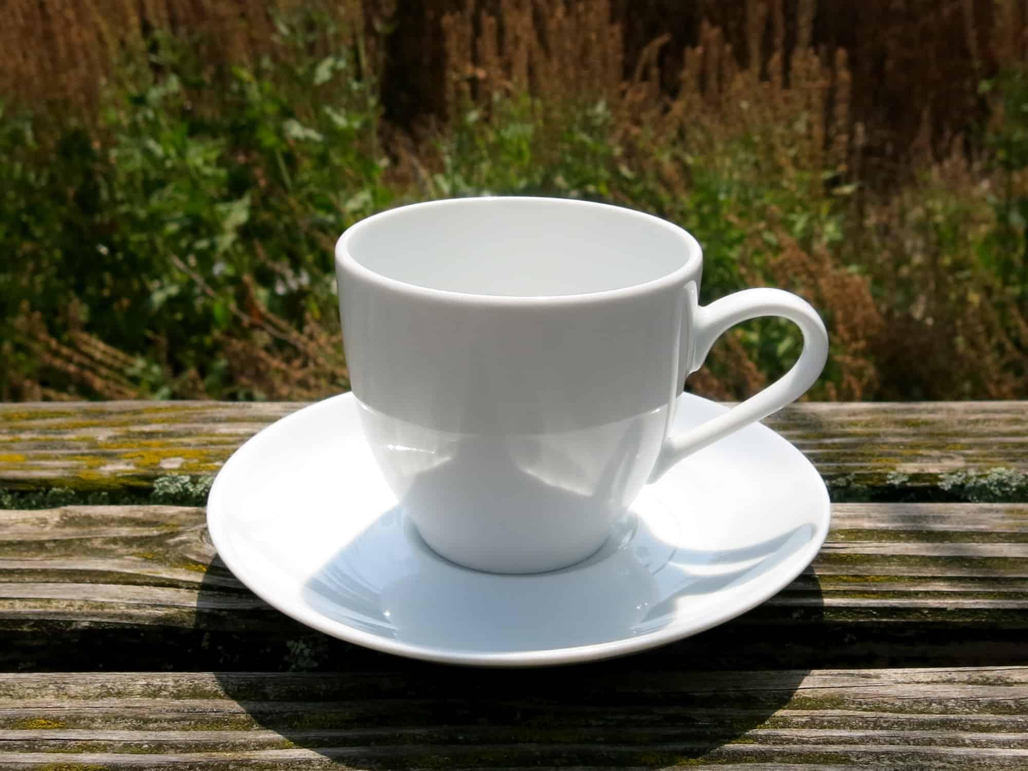 Kaffeetasse Ole 190 ml mit Untertasse Abb.ohne Oliven