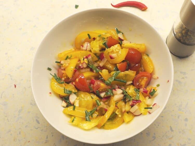 Schüssel Ole 17 cm Tomatensalat fertig