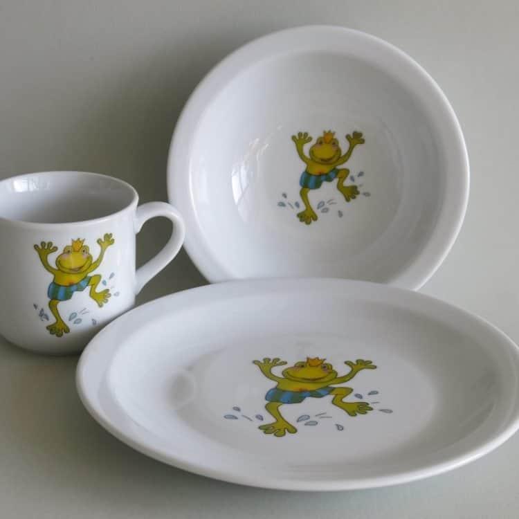 Eule, Frosch und Maus