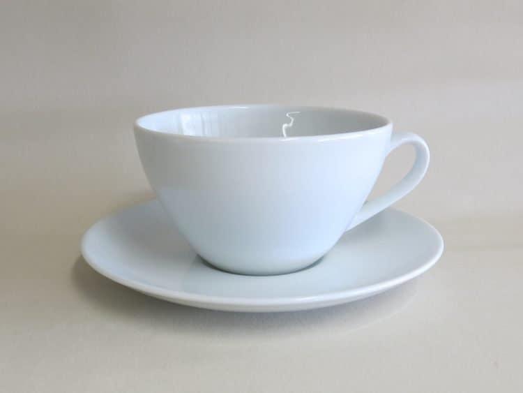 Porzellantasse Carlo für Tee