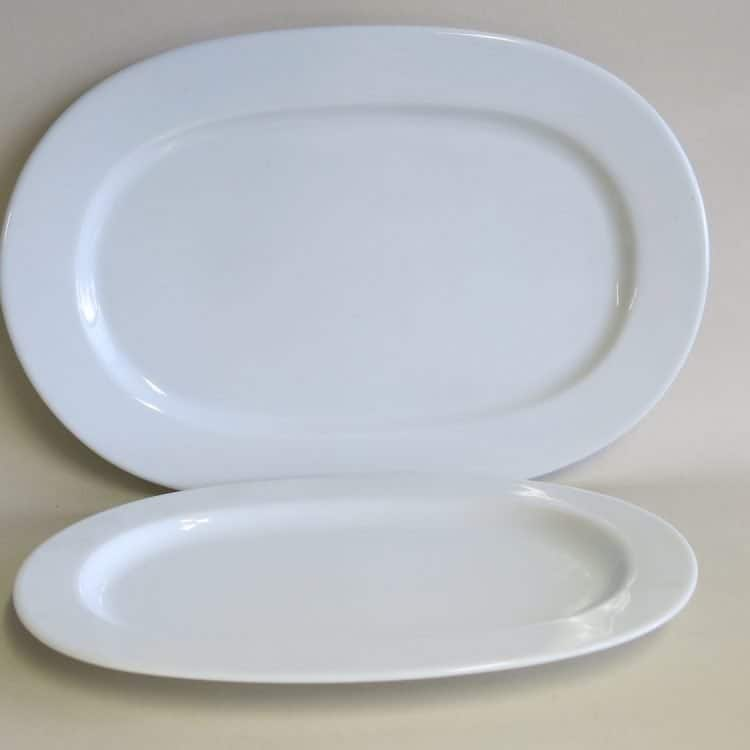 Porzellan Vorlegeplatte Opty 33 und 38 cm