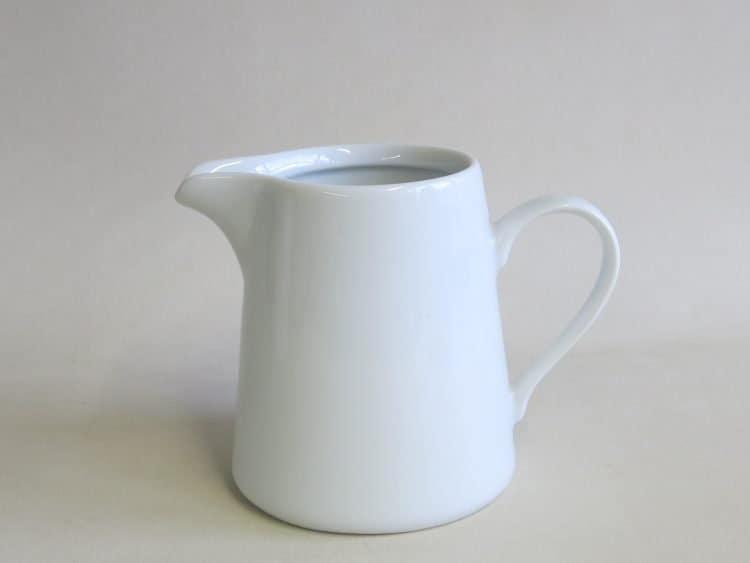 Weißer Porzellan Milchgießer Opty 250 ml