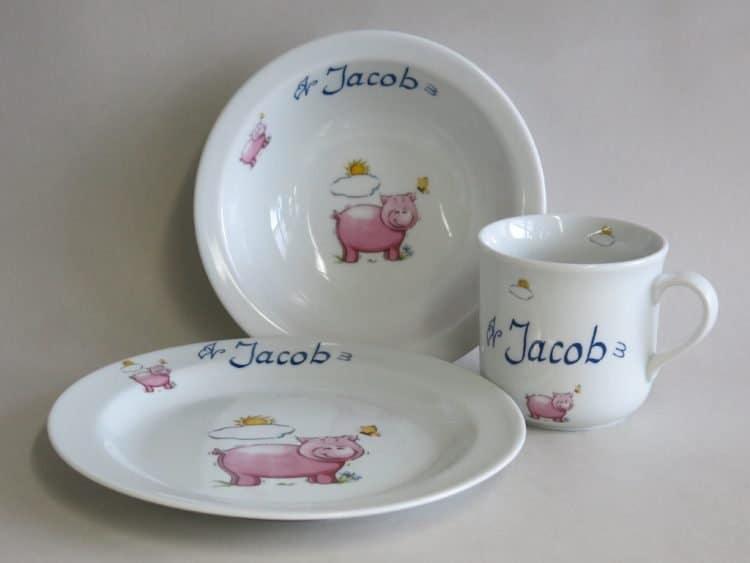 Set Müsli mit Schweinchen und Nam