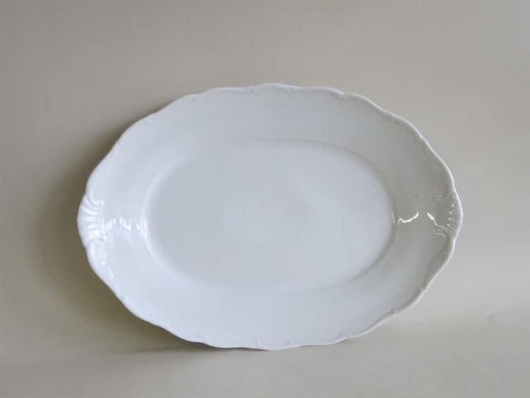 ovale Porzellanplatte Ofelie