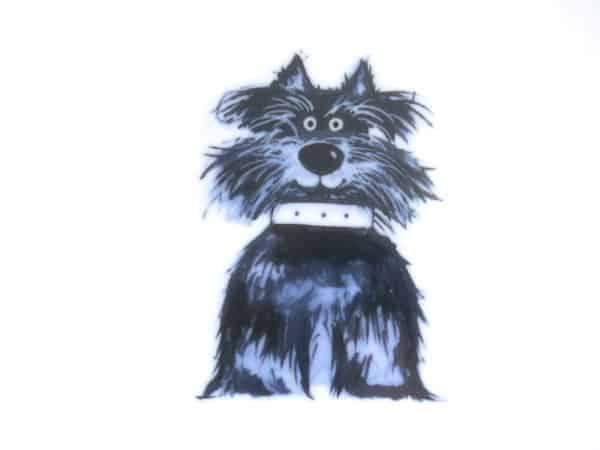 Terrier Fiffi Motiv