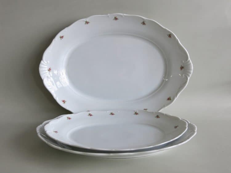 Porzellanplatten Ofelie Röschen