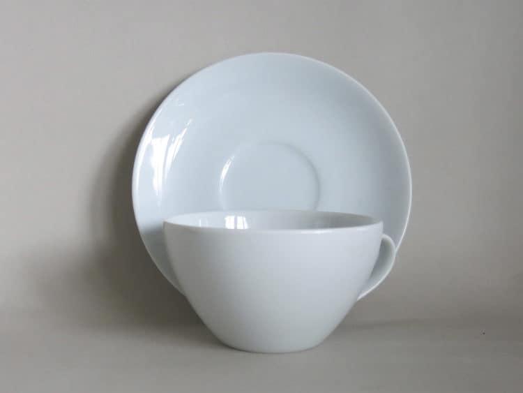 Porzellann Tasse Carlo klein mit Untertasse