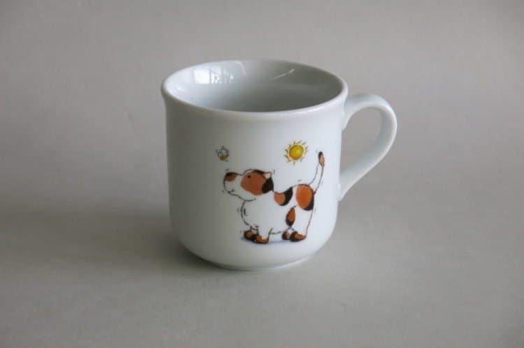 Kinderbecher 230 ml mit Hund mit Biene