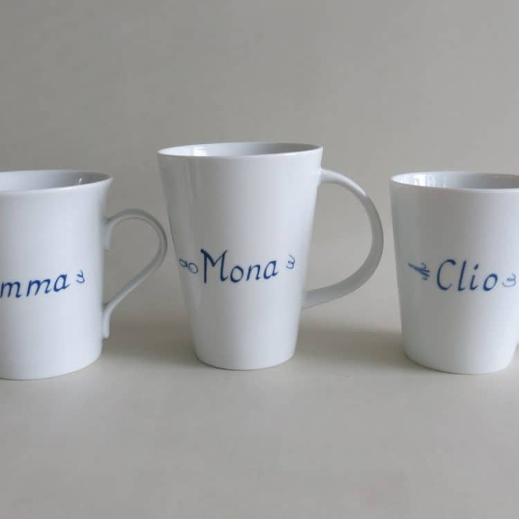 Bechervergleich Emma, Mona, Clio