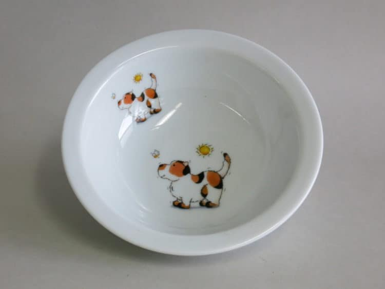 Müslischüssel 16 cm mit Hund und Biene