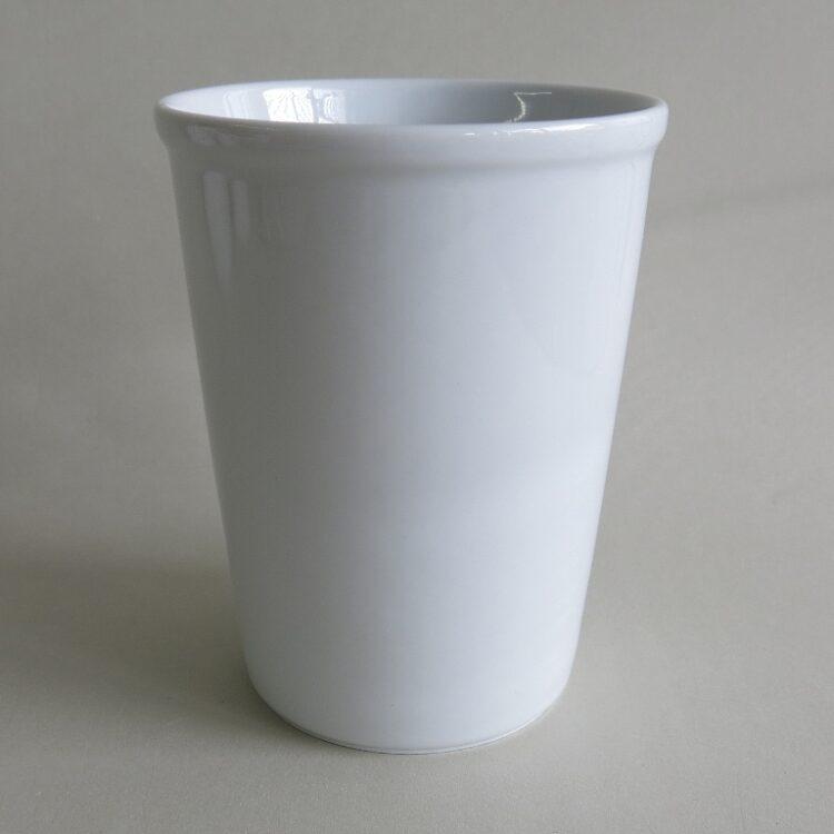 Porzellanbecher Erin ohne Henkel weiß 420 ml