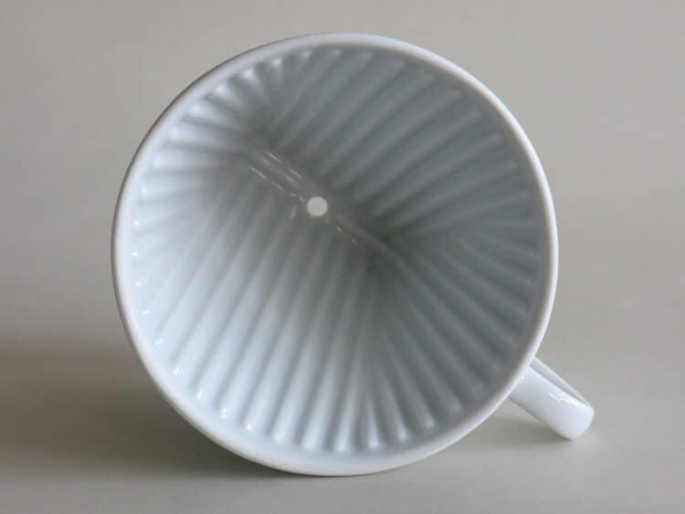 Porzellan Kaffeefilter Melitta 102 weiß, 1 Loch