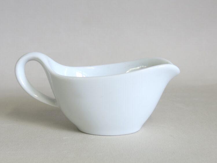 Minisauciere 50 ml aus weißem Porzellan