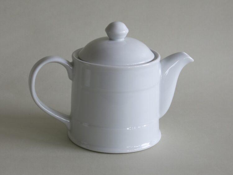 Teekanne Rafal aus weißem Porzellan 400 ml