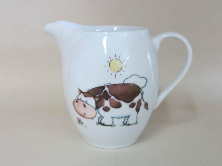 Porzellankrug Olympia mit Kuh