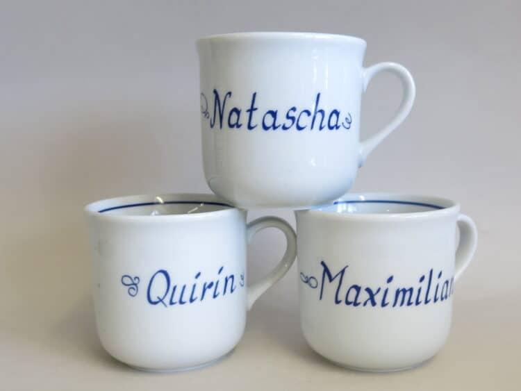 Drei Klassischen Namenstasse