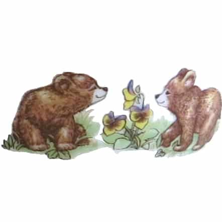 Motiv Bärenkinder
