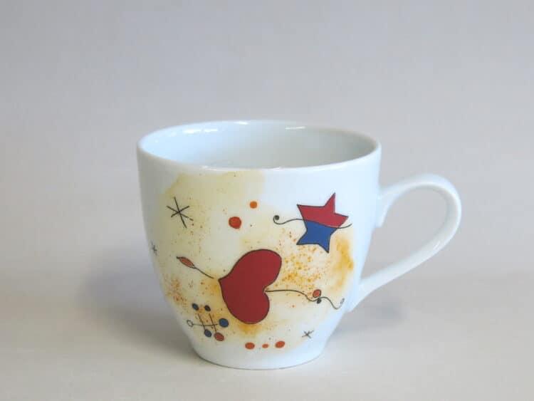 Kaffeetasse Ole Motiv nach Miro Herz