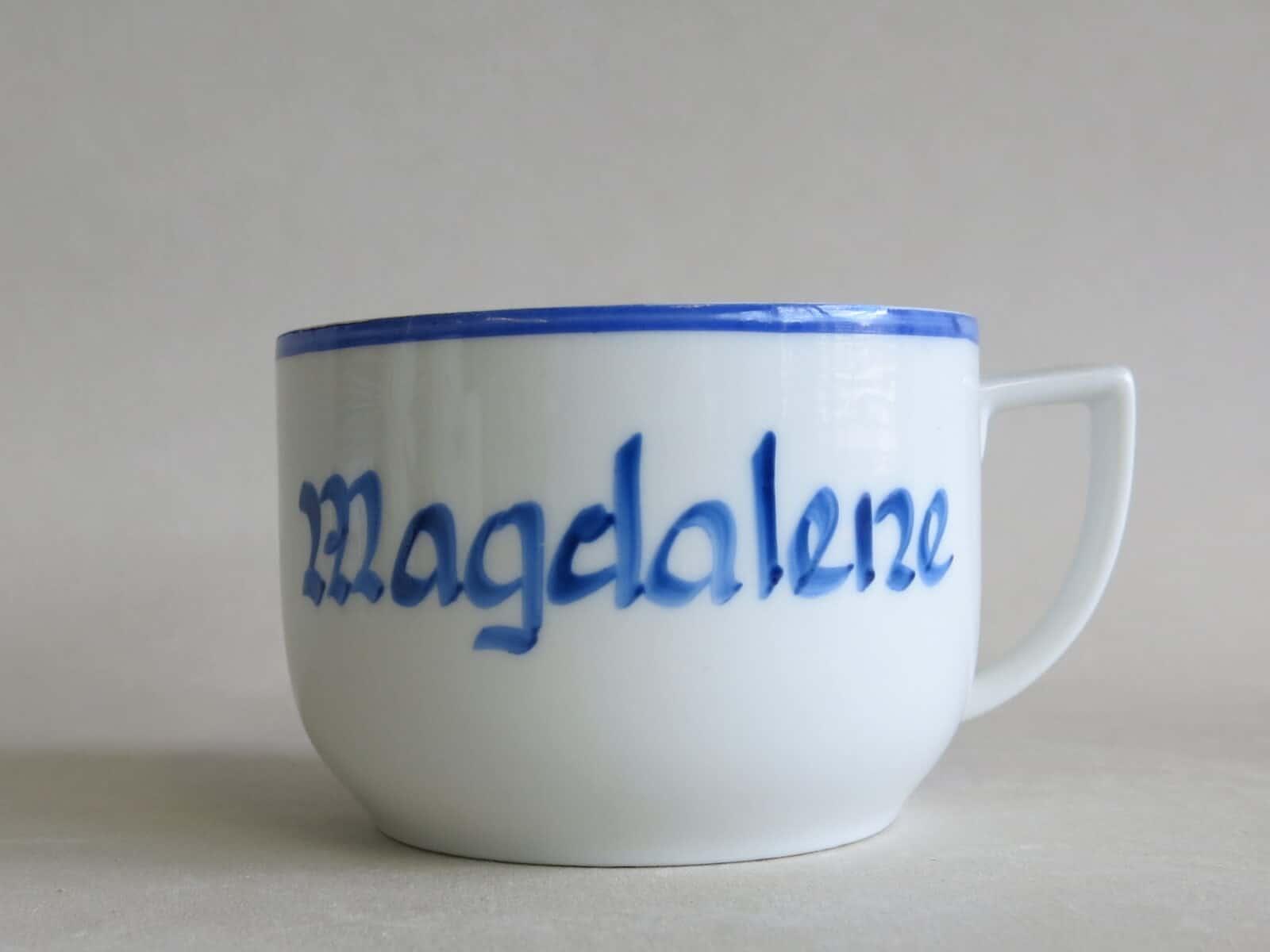 historische Namenstasse Magdalene circa 1960