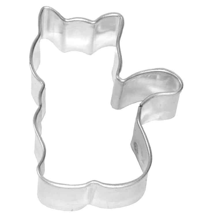 Birkmann Keksausstecher Katze sitzend 5,5 cm aus Weißblech