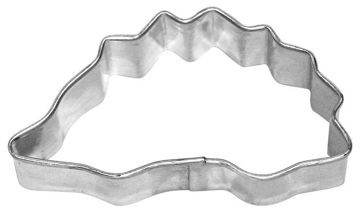 Igel Ausstechform von Birkmann 6 cm aus Weißblech