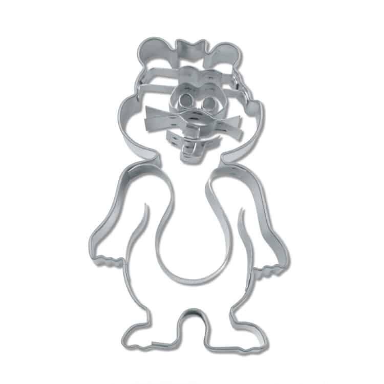 Präge Keksausstecher Städter 216242 Hamster aus Edelstahl 8 cm