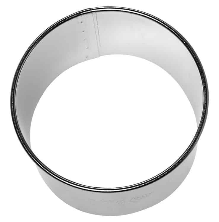 Profi-Ausstechform Kreis, glatt, 8 cm von Birkmann aus Edelstahl