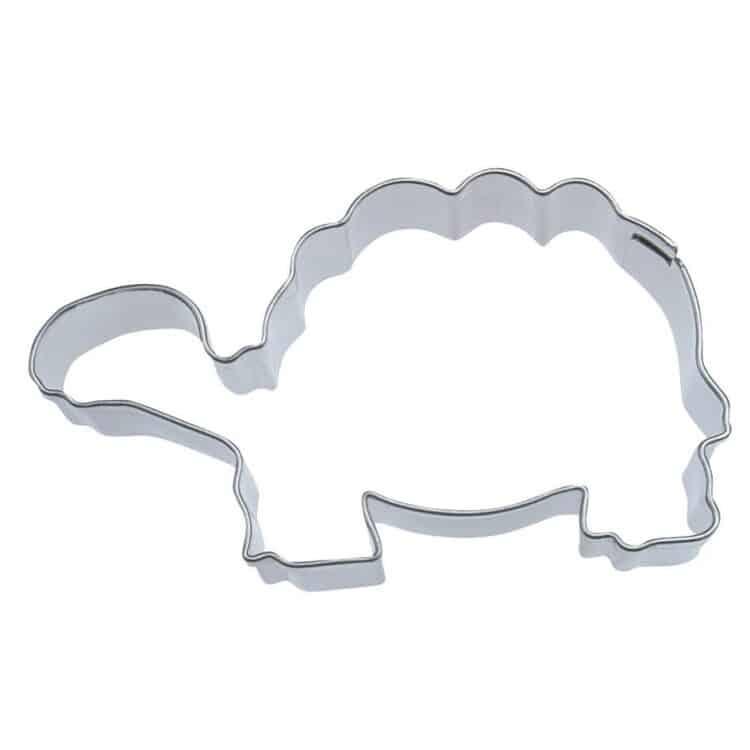 Schildkröte Keksausstecher aus Edelstahl 6,5 cm
