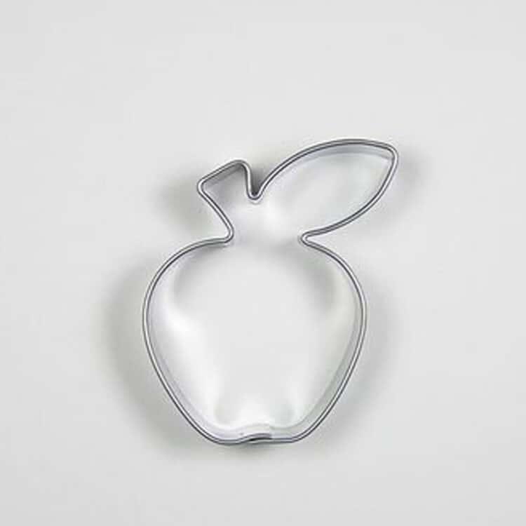 Apfel Keksausstecher aus Edelstahl