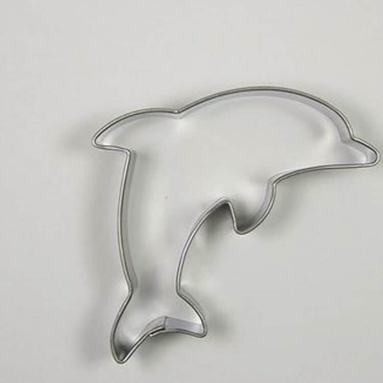 Delfin Ausstechform aus Edelstahl von Sonix
