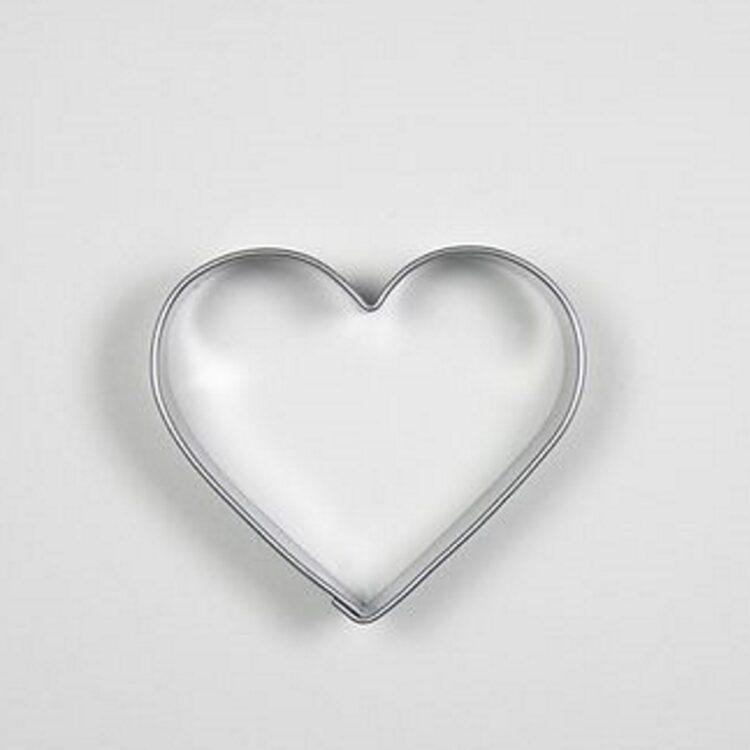Herz Ausstechform von Sonix aus Edelstahl etwa 4 cm