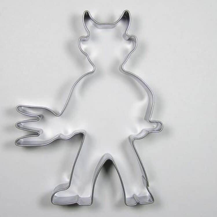 Teufel Ausstechform aus Edelstahl von Sonix