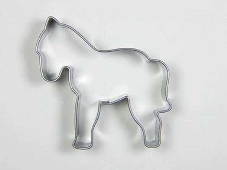 Plätzchen Ausstecher PferdchenSonix