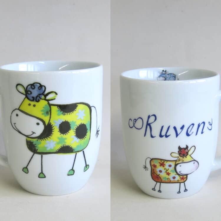 Namenstasse Daria alle kunterbunten Kühe