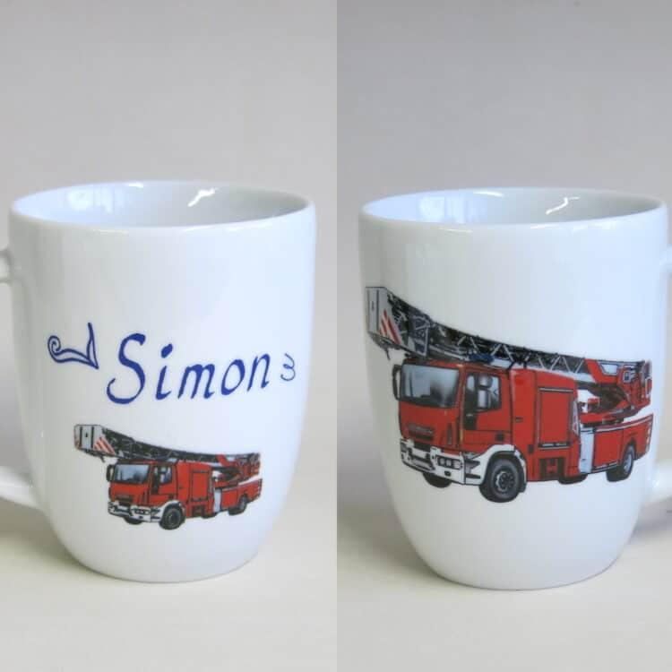 Namenstasse Daria realistische Feuerwehr