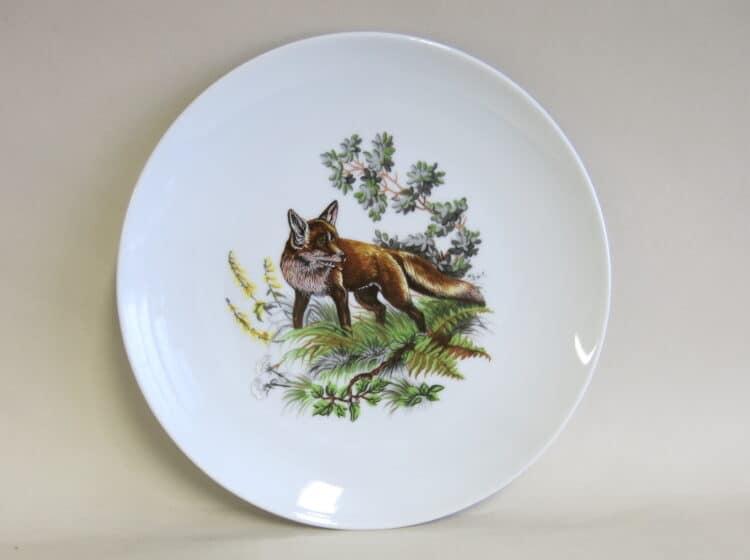 Teller Ole 20 cm Fuchs mittig