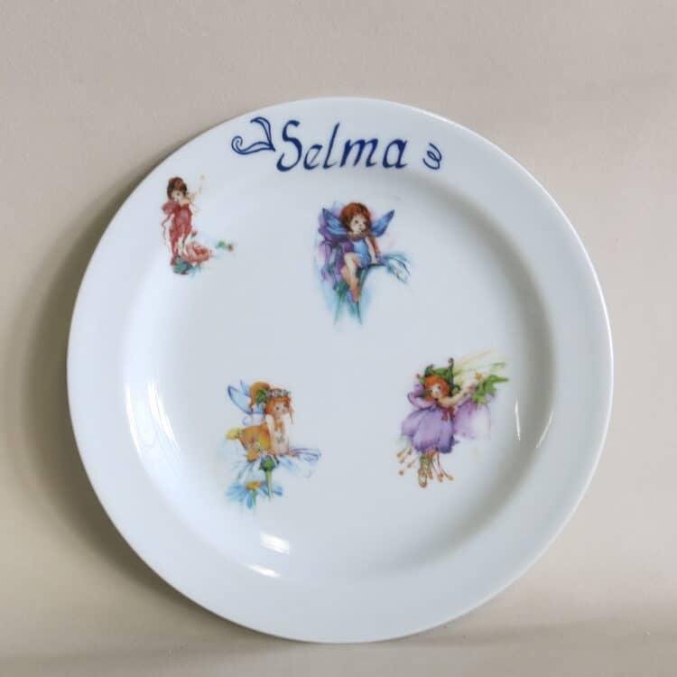 Teller Olympia 19 cm alle Blumenelfen
