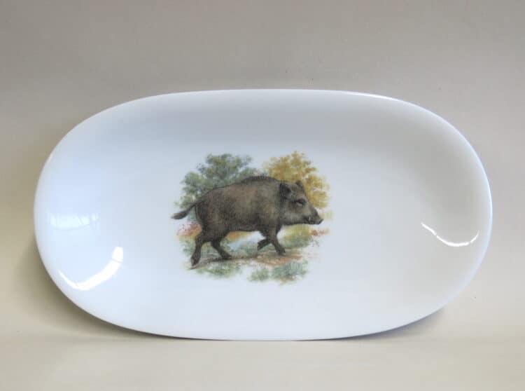 Olympia Beilagenplatte Wildschwein