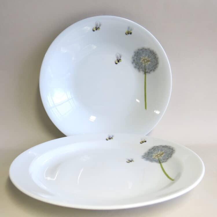 Set Essteller Pusteblume und Bienchen