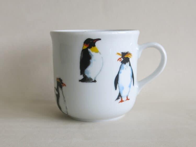 Becher Kid 230 ml aus Porzellan mit antarktika Pinguinen