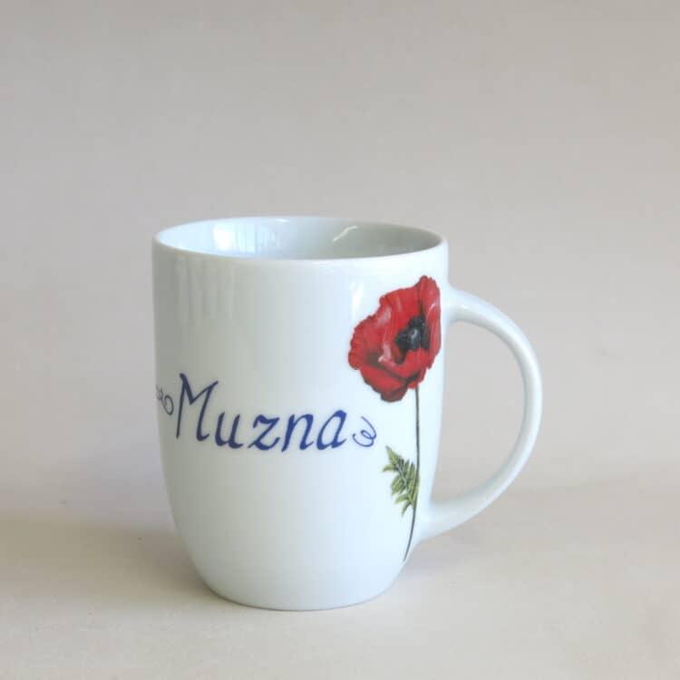 2000 Namentasse Daria Gartenblumen Mohnblume