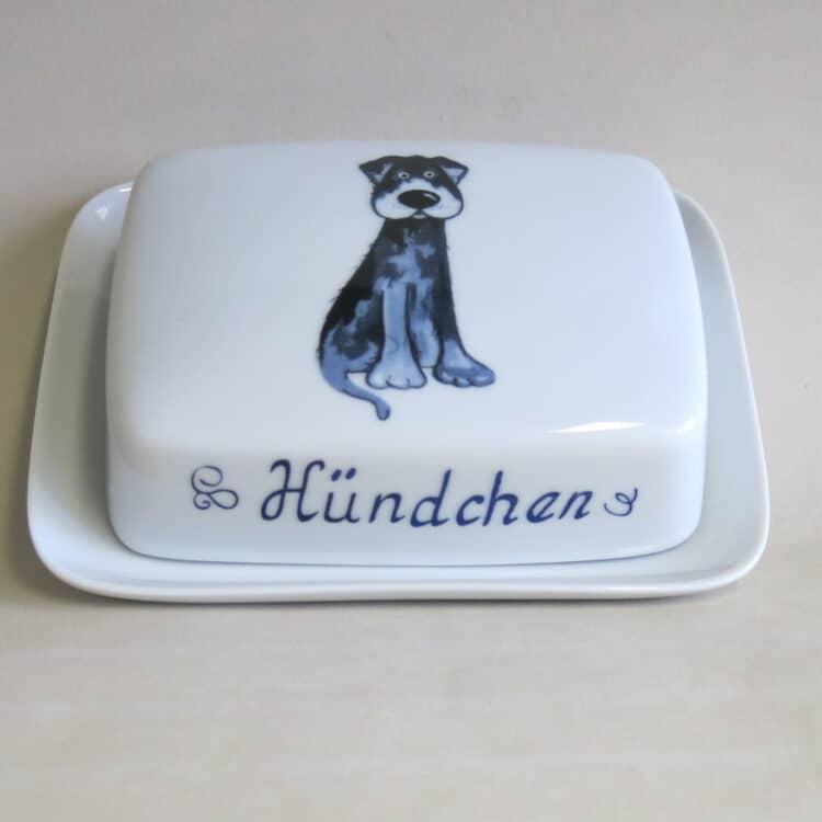 Butterdose Kristof Labrador Gustl personalisiert