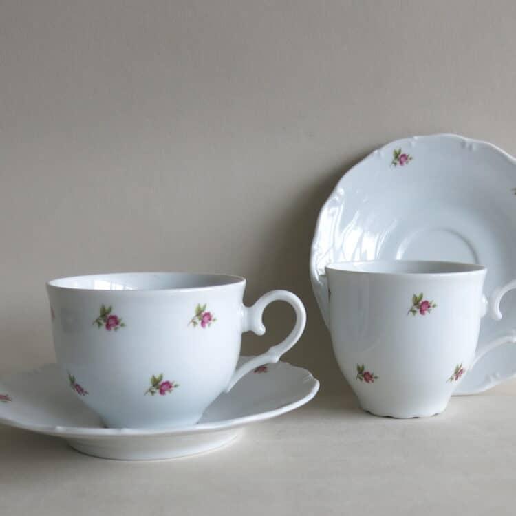 Ofelie Röschen Teetasse Kaffeetasse und Unterteller